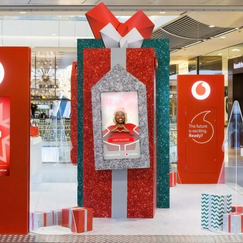 Experiential marketing with Vodafone