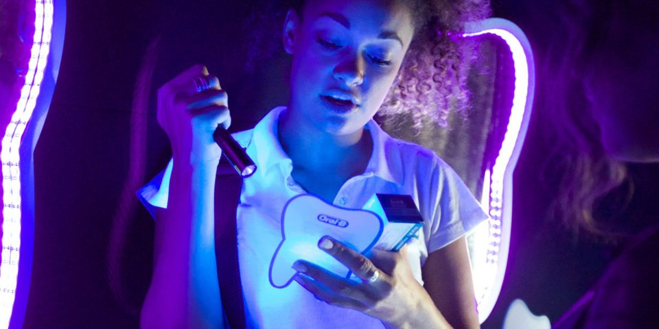 Experiential marketing with Oral B